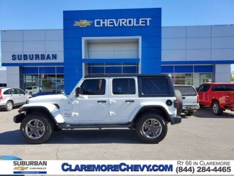 2018 Jeep Wrangler Unlimited for sale at Suburban Chevrolet in Claremore OK