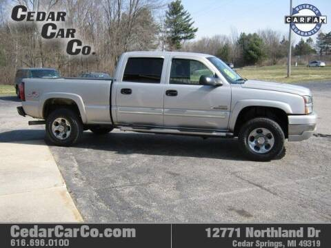 2005 Chevrolet Silverado 2500HD for sale at Cedar Car Co in Cedar Springs MI