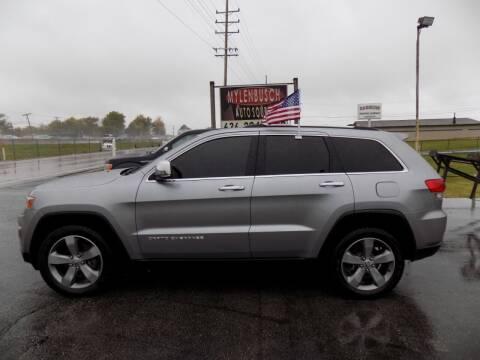 2014 Jeep Grand Cherokee for sale at MYLENBUSCH AUTO SOURCE in O` Fallon MO