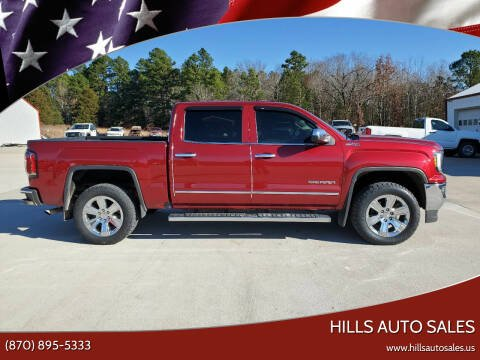 2018 GMC Sierra 1500 for sale at Hills Auto Sales in Salem AR