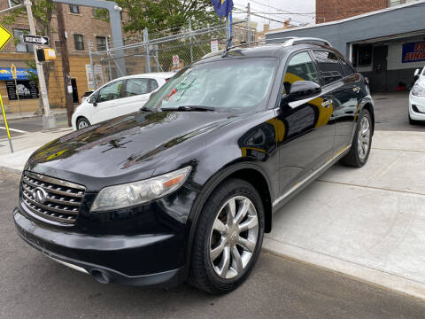 2006 Infiniti FX35 for sale at DEALS ON WHEELS in Newark NJ