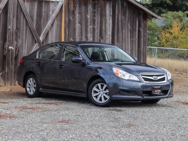 2012 Subaru Legacy for sale at LKL Motors in Puyallup WA