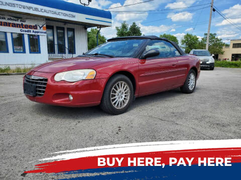 2006 Chrysler Sebring for sale at E.L. Davis Enterprises LLC in Youngstown OH