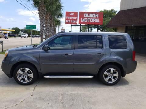 2013 Honda Pilot for sale at Olson Motors LLC in Saint Augustine FL