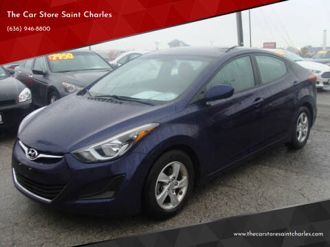2014 Hyundai Elantra for sale at The Car Store Saint Charles in Saint Charles MO