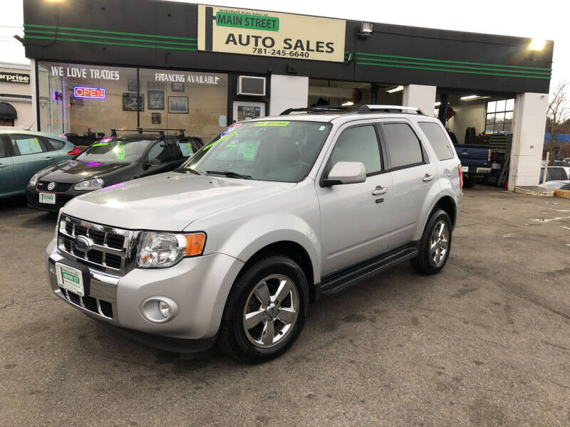 2009 Ford Escape for sale at Wakefield Auto Sales of Main Street Inc. in Wakefield MA