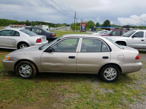 2002 Toyota Corolla for sale at CAR-MART AUTO SALES in Maryville TN