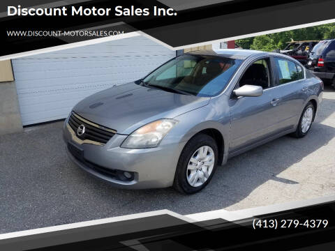 2009 Nissan Altima for sale at Discount Motor Sales inc. in Ludlow MA