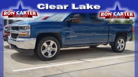 2017 Chevrolet Silverado 1500 for sale at Ron Carter  Clear Lake Used Cars in Houston TX