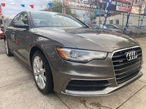 2012 Audi A6 for sale at Simon Auto Group in Newark NJ