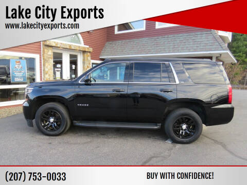2016 Chevrolet Tahoe for sale at Lake City Exports in Auburn ME