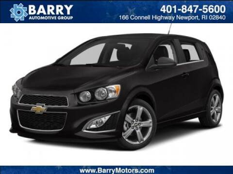 2013 Chevrolet Sonic for sale at BARRYS Auto Group Inc in Newport RI