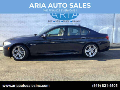 2014 BMW 5 Series for sale at ARIA  AUTO  SALES in Raleigh NC