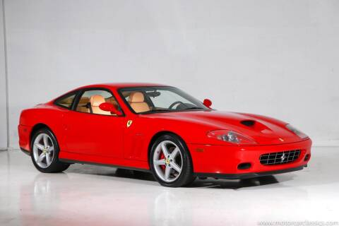 2002 Ferrari 575M for sale at Motorcar Classics in Farmingdale NY