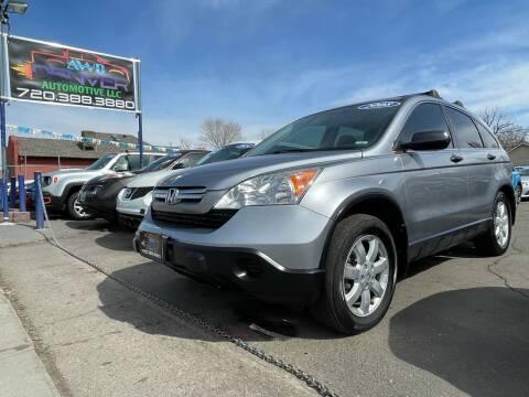 2008 Honda CR-V for sale at AWD Denver Automotive LLC in Englewood CO