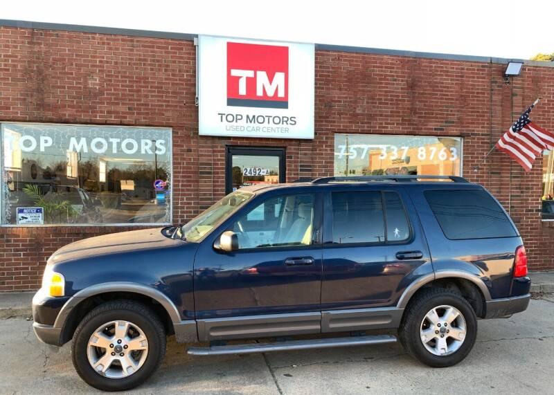 2003 Ford Explorer for sale at Top Motors LLC in Portsmouth VA