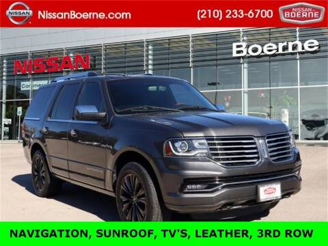 2015 Lincoln Navigator for sale at Nissan of Boerne in Boerne TX