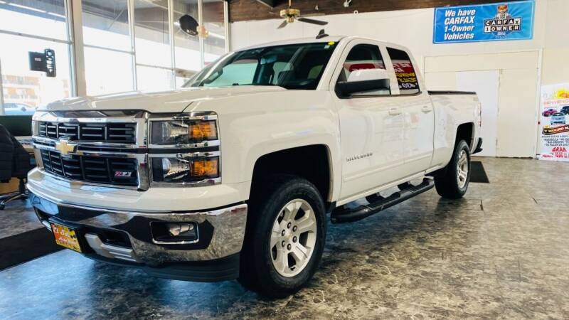 2015 Chevrolet Silverado 1500 for sale at TOP YIN MOTORS in Mount Prospect IL