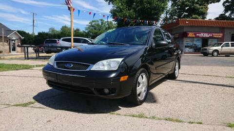 2007 Ford Focus for sale at Lamarina Auto Sales in Dearborn Heights MI