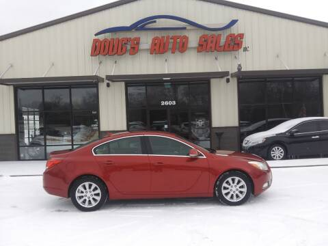 2012 Buick Regal for sale at DOUG'S AUTO SALES INC in Pleasant View TN