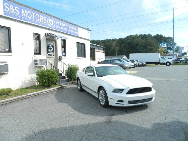 2013 Ford Mustang for sale at S & S Motors in Marietta GA