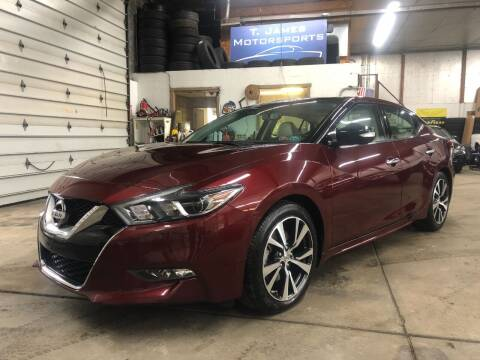 2016 Nissan Maxima for sale at T James Motorsports in Gibsonia PA