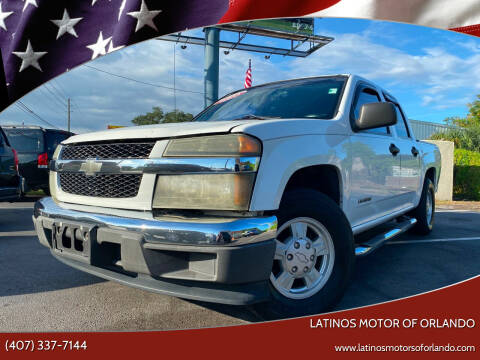 2005 Chevrolet Colorado for sale at LATINOS MOTOR OF ORLANDO in Orlando FL