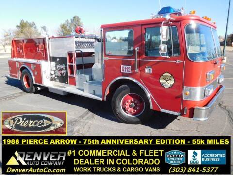 1988 Pierce Arrow Pumper