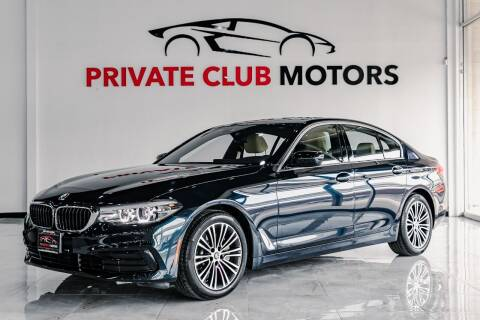 2019 BMW 5 Series for sale at Private Club Motors in Houston TX