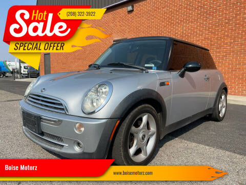 2005 MINI Cooper for sale at Boise Motorz in Boise ID