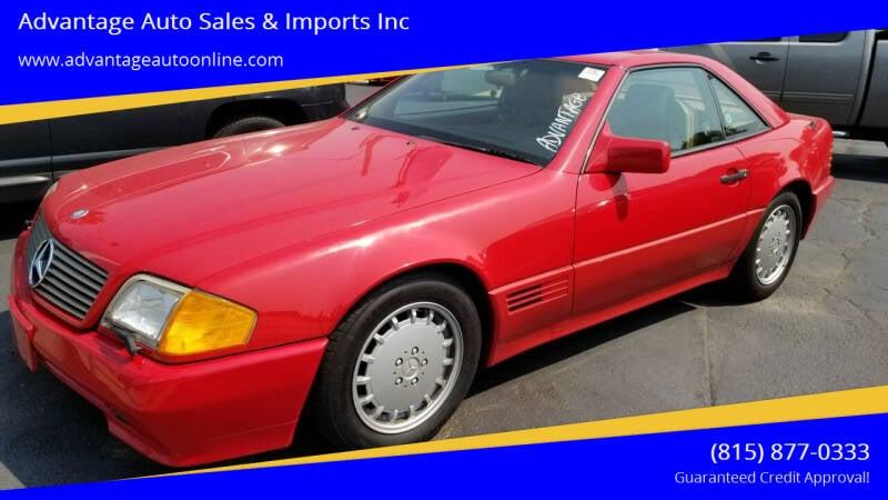 1991 Mercedes-Benz 300-Class for sale at Advantage Auto Sales & Imports Inc in Loves Park IL