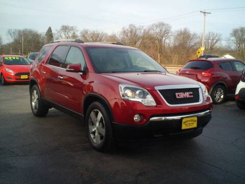 2012 GMC Acadia for sale at BestBuyAutoLtd in Spring Grove IL