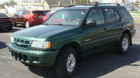 2002 Isuzu Rodeo for sale at Red Rock Auto LLC in Oklahoma City OK