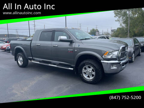 2012 RAM Ram Pickup 3500 for sale at All In Auto Inc in Palatine IL