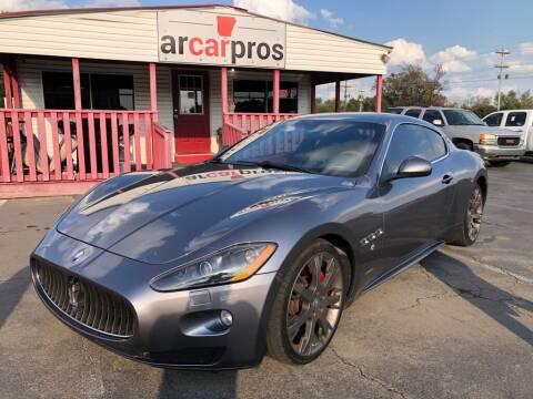 2010 Maserati GranTurismo for sale at Arkansas Car Pros in Cabot AR