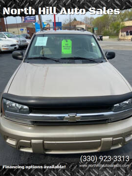 2005 Chevrolet TrailBlazer for sale at North Hill Auto Sales in Akron OH