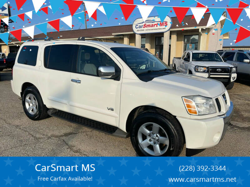2007 Nissan Armada for sale at CarSmart MS in Diberville MS