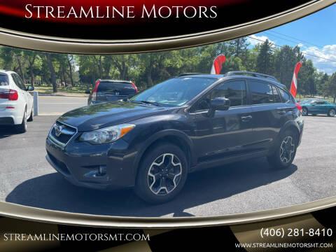 2014 Subaru XV Crosstrek for sale at Streamline Motors in Billings MT
