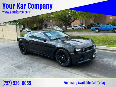 2015 Chevrolet Camaro for sale at Your Kar Company in Norfolk VA