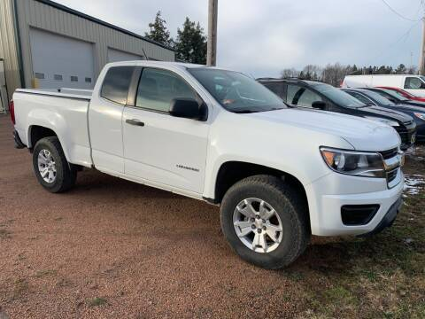 2017 Chevrolet Colorado for sale at Yachs Auto Sales and Service in Ringle WI
