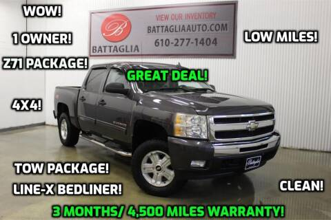 2010 Chevrolet Silverado 1500 for sale at Battaglia Auto Sales in Plymouth Meeting PA