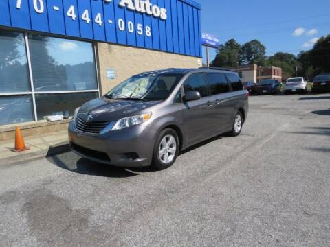 2015 Toyota Sienna for sale at Southern Auto Solutions - 1st Choice Autos in Marietta GA