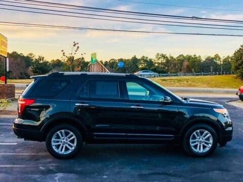 2013 Ford Explorer for sale at Poole Automotive -Moore County in Aberdeen NC
