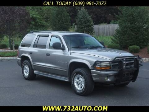 2000 Dodge Durango for sale at Absolute Auto Solutions in Hamilton NJ