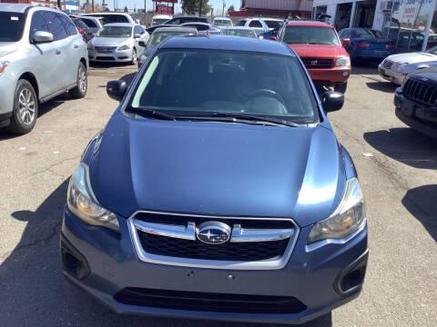 2013 Subaru Impreza for sale at GPS Motors in Denver CO