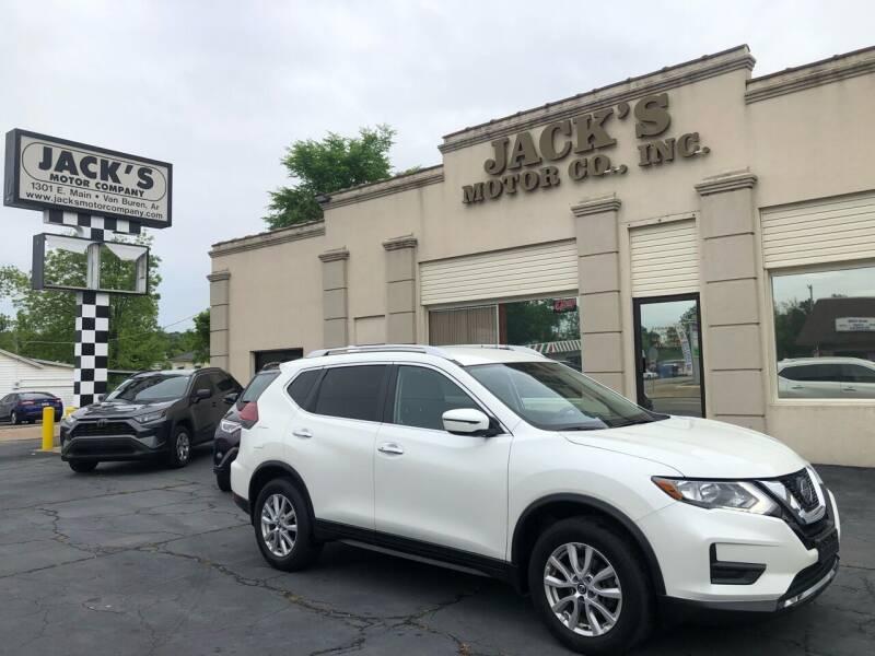2018 Nissan Rogue for sale at JACK'S MOTOR COMPANY in Van Buren AR
