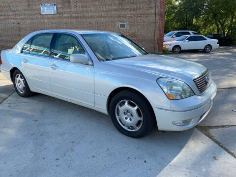 2002 Lexus LS 430 for sale at SPECIALTY VEHICLE SALES INC in Skokie IL