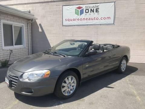 2004 Chrysler Sebring for sale at SQUARE ONE AUTO LLC in Murray UT