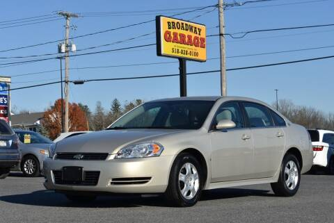 2009 Chevrolet Impala for sale at Broadway Garage of Columbia County Inc. in Hudson NY