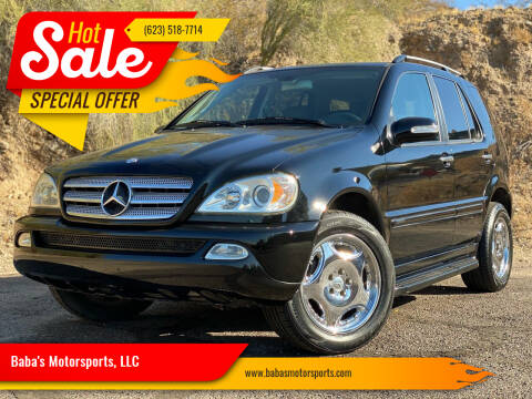 2005 Mercedes-Benz M-Class for sale at Baba's Motorsports, LLC in Phoenix AZ